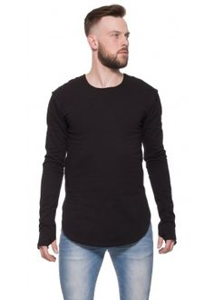 Closed sweater black