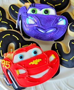 Disney Cars Cookies