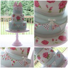 Tiers & Tiaras: Cath Kidston Birthday Cake