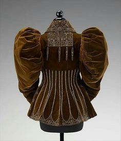 1895, France Afternoon jacket by the House of Worth Silk, beads MET Museum