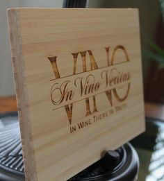 Wine Sign - In Vino Veritas