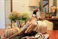 Eleven Gables: Blogger Stylin' Home Tours | Fall Home Tour