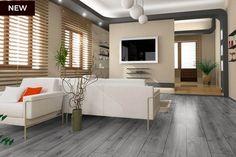 Series Woods Professional 8mm Herringbone Laminate Flooring Grey Shadow Oak Real Wood Floors, Hardwood Floors, Minimalist Interior, Minimalist Design, Herringbone Laminate Flooring, Water Underfloor Heating, Home Interior, Interior Design, Grey Oak
