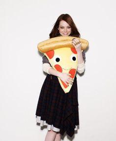 Yummy World XL Cheesy Pie Pizza Plush - Kidrobot - 3 - Cheesy Pie Pizza Plush Does Not Come With Emma Stone - 2 ft. Pizza Pie