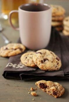Dans la cuisine de Sophie: Cookies banane, amandes et pépites de chocolat
