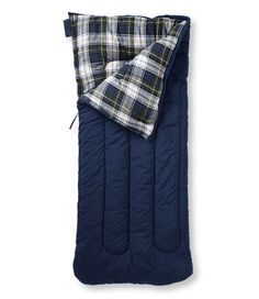 Camp Sleeping Bag, Flannel-Lined 40: Sleeping Bags   Free Shipping at L.L.Bean