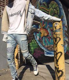 Denim Style for men http://www.99wtf.net/men/mens-fasion/latest-mens-fashion-trends-2016/