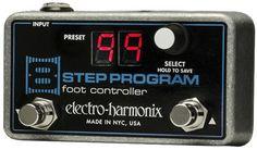 Electro-Harmonix 8-Step Foot Controller Pedal