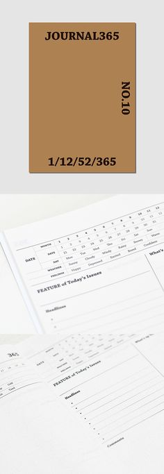 Large Journal 365 Daily Planner