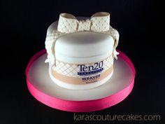 Replica Birthday Cake- to scale  Cake by KarasCoutureCakes