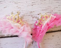 girls princess crown, crown, baby crown, birthday crown, crown headband, gold crown, pink crown, baby headband, girls headband, birthday