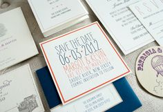 Sweet invitations from 1440 and Patricia Kim.