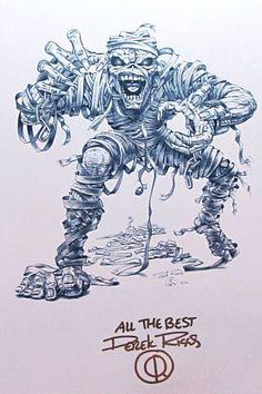 Email - alvarogiatti giatti - Outlook Iron Maiden Cover, Iron Maiden Band, Iron Maiden Mascot, Dibujos Dark, Iron Maiden Posters, Eddie The Head, Creepy Pictures, Metal Artwork, Heavy Metal Bands