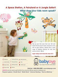 Babyoye.com - Print Ad for Child Magazine