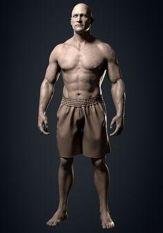 Anatomy Practice, Watch V, Sculpting, Statue, Sculpture, Sculptures