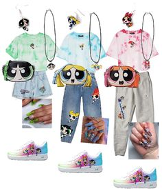 Teen Girl Outfits, Couple Outfits, Girls Fashion Clothes, Outfits For Teens, Bunny Halloween Costume, Halloween Costumes For Teens, Girl Costumes, Powerpuff Girls Teenagers, Powerpuff Girls Costume