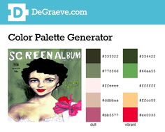Genius! Color palette generator - Make color schemes. Enter the URL of an image to get a color palette that matches the image.