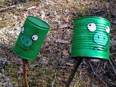 Angry birds bokser på pinner.. Angry Birds