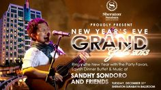 The Biggest New Year's Eve Party in Surabaya with Sandhy Sondoro