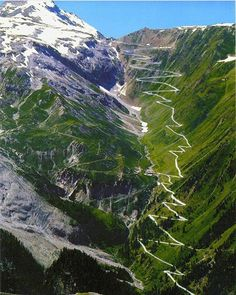 Voted best driving road in the world. STELVIO PASS in the Italian Alps is one of the highest mountain passes in all of Europe. Also one of the most dangerous roads in the world. Places To Travel, Places To See, Travel Things, Travel Stuff, Places Around The World, Around The Worlds, Beautiful World, Beautiful Places, Amazing Places