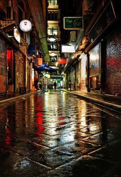 We love this photo of #Melbourne After the rain - Melbourne, Victoria, Australia