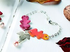 Autumn Glory - Create tumbling autumn leaves from low firing enamels and copper sheet