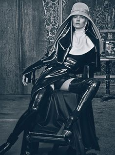 """Kate Moss in """"GOOD KATE, BAD KATE"""" / Photographed / Steven Klein / Styling: Edward Enninful / For W Magazine March 2012"""