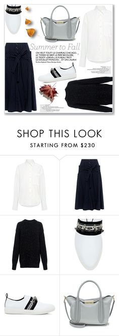 """""""Summer to Fall Layering"""" by ifchic ❤ liked on Polyvore featuring Sea, New York, Marissa Webb, TIBI, Mother of Pearl, ZAC Zac Posen, layers, contestentry, summertofall and ifchic"""