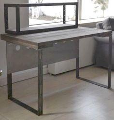 PÓŁKA DREWNO STAL - cztery_pokoje - Meble biurowe