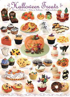 """Halloween Treats"" ~ a 1000 piece jigsaw puzzle by Eurographics"