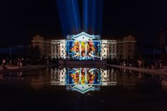 Rescape Light Art Experience / Another Nature, Projection Mapping Artwork 3d Projection Mapping, 3d Artwork, Light Art, Master Class, Virtual World, Collaboration, Facade, Artworks, Artist