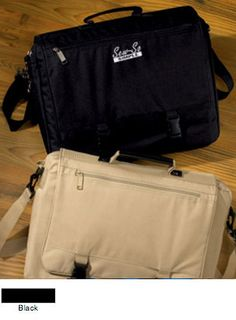 a15cba6089 UltraClub Classic Corporate Embroidered Briefcase  22.22