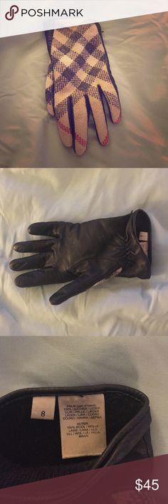Burberry glove Tweed Burberry glove. Lost the other last year. Maybe someone has the other. Burberry Accessories Gloves & Mittens