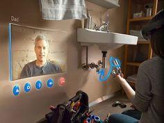 Augmented reality Microsoft HoloLens better Google Glass, Oculus Rift - YouTube
