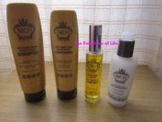 Italian blogger about RICH Hair Care