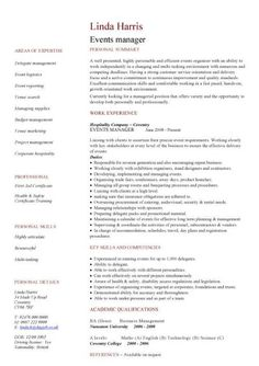 EventsMerchandising Manager Cover Letter  Brooklyn Resume Studio
