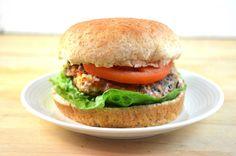 Spinach & Feta Turkey Burger