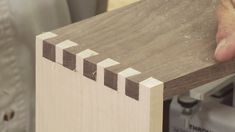 Follow these helpful tips and you'll find it easy to learn how to make dovetail joints and fit them accurately.