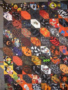 i spy halloween quilt