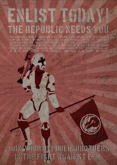 Propoganda Posters for Star Wars The Old Republic by Peter-Benjamin Klestrup, via Behance
