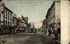 Main Street  Battle Creek, Michigan