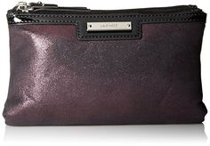 Nine West Glitter Mob Cosmetic Case Bag *** Review more details here : Travel cosmetic bag