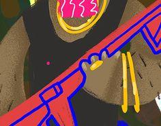 "Check out new work on my @Behance portfolio: ""gangsta"" http://be.net/gallery/54397385/gangsta"