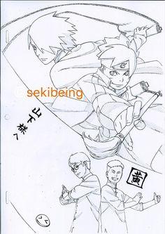 Tweets con contenido multimedia de sekibeing (@cekibeing)   Twitter Naruto Fan Art, Naruto Vs Sasuke, Naruto Anime, Naruto Shippuden Anime, Naruto Sketch, Anime Sketch, Manga Art, Manga Anime, Poses Manga