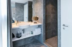 Techno, Hotels, Bathroom Lighting, Toilet, Stone, Mirror, Projects, Furniture, Home Decor