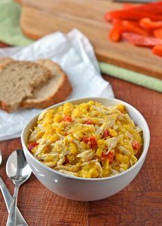 Healthy Corn Chicken Chowder