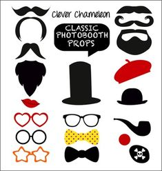 Cheap booth equipment, Buy Quality booth canopy directly from China booth coating Suppliers: New Design Chic Funny Lips Glasses Modeling DIY Photo Booth Props Masquerade Mask Western Party Wedding Decorations Diy Photo Booth Props, Diy Photo Backdrop, Photos Booth, Diy Fotokabine, Diy Crafts, Red Clown Nose, Red Nose, Photobooth Props Printable, Diy Photobooth