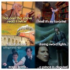 Belle likes Harry Potter too! Harry Potter Friends, Harry James Potter, Harry Potter Memes, Slytherin Pride, Hogwarts, Snape And Hermione, Funeral March, Weasley Twins, Sword Fight