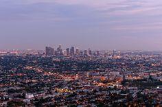 Los Angeles at dusk...