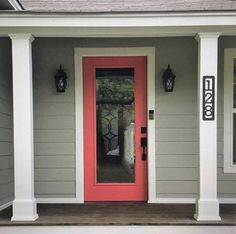 How To Wrap Front Porch Posts (Turn Skimpy Front Porch Posts Into Pretty Columns) - Part 1 - Addicted 2 Decorating® Front Porch Pillars, Front Porch Posts, Front Stoop, Front Porches, Front Doors, Porch Column Wraps, Porch Post Wraps, Diy Balkon, Porch Kits
